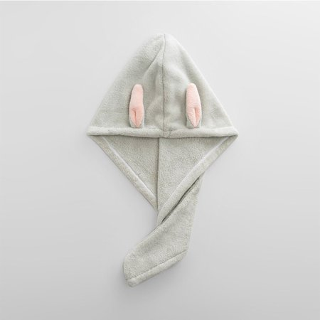 Rabbit Ear Fast Drying Hair Towel Quick Dry Hair Hat Wrapped Towel Bathing Cap - image 6 of 6