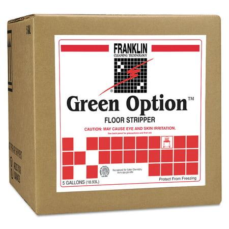 Franklin Green Option Floor (Green Option Floor Stripper, Liquid, 5 gal. Box )