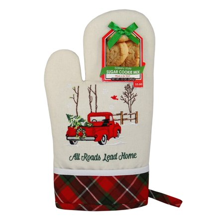 Gourmet Cookies And Brownies - Anastasia Gourmet Dat'l Do-It All Roads Lead Home Oven Mitt with Sugar Cookie Mix