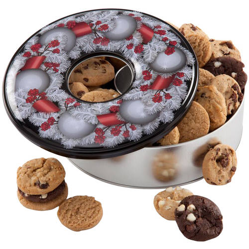 Mrs. Fields Holiday Cookie Wreath, 36 count