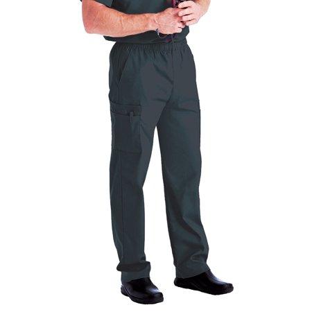 10868ee55ac Landau - Landau Men's Cargo Pocket with Zipper Fly Scrub Pants - Walmart.com