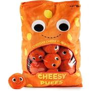 "Yummy World 24"" Arnold & The Puffs (Cheese Puffs) Plush"