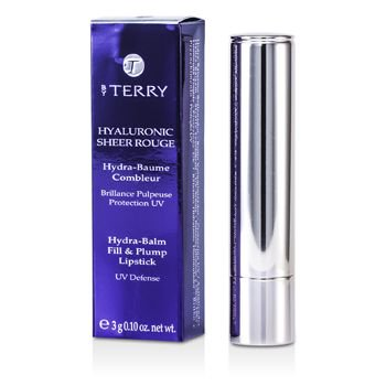 By Terry Hyaluronic Sheer Rouge Hydra-Balm Fill & Plump Lipstick - # 6 Party Girl 0.1 oz Lipstick