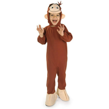 Curious George Child Halloween Costume