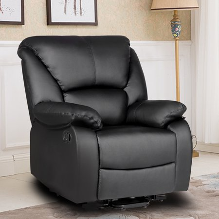 Harper & Bright Designs PU Leather Home Theater Recliner