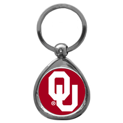 Oklahoma Chrome Key Chain (F)