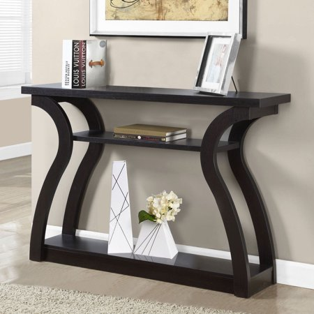 Curved End Console - Monarch Accent Table 47
