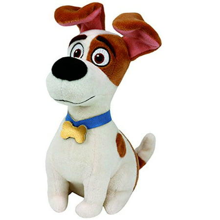 Beanie Baby Trading Card (Ty Beanie Babies Secret Life of Pets Max The Dog Regular Plush )