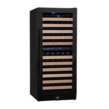 Kingsbottle 106 Bottle Dual Zone Wine Refrigerator