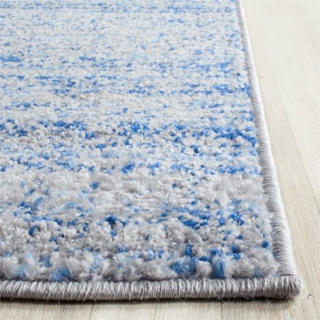 "Safavieh Adirondack 2'6"" X 6' Power Loomed Rug in Blue and Silver - image 1 of 3"