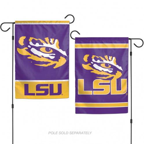 "Louisiana State University LSU 2 Sided Garden Flag, 12.5"" by 18"", Wincraft"