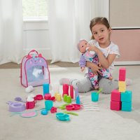 My Sweet Love Accessory Play Set for Baby Dolls, 51 Pieces