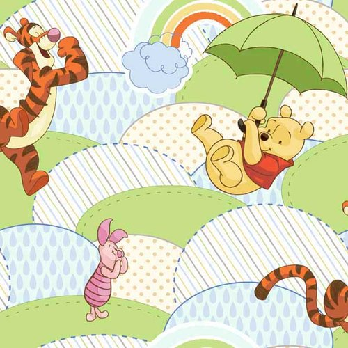 Disney Pooh Nursery Umbrella Hills