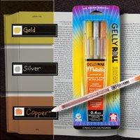 Gelly Roll Metallic Gel Pen 3-Pack