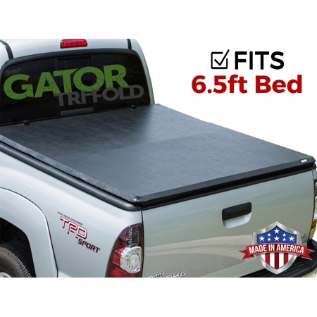 Gator ETX Tri-Fold (fits) 2007-2013 Toyota Tundra 6.5 FT Bed Only Tonneau Truck Bed Cover w/ TS Made in the USA 59514 (Truck Accessories Toyota Tundra)