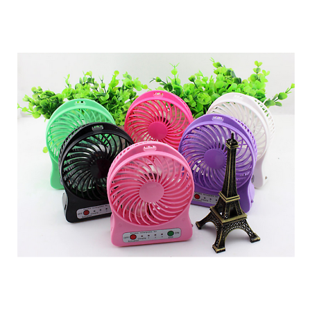 Green Rechargeable Mini Portable USB High 3 Speed Cooling Fan Lasts 8 (The Last Of Us Coming To Pc)