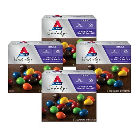 Image of Atkins Endulge Treat, Chocolate Peanut Candies, Keto Friendly, 20 Count