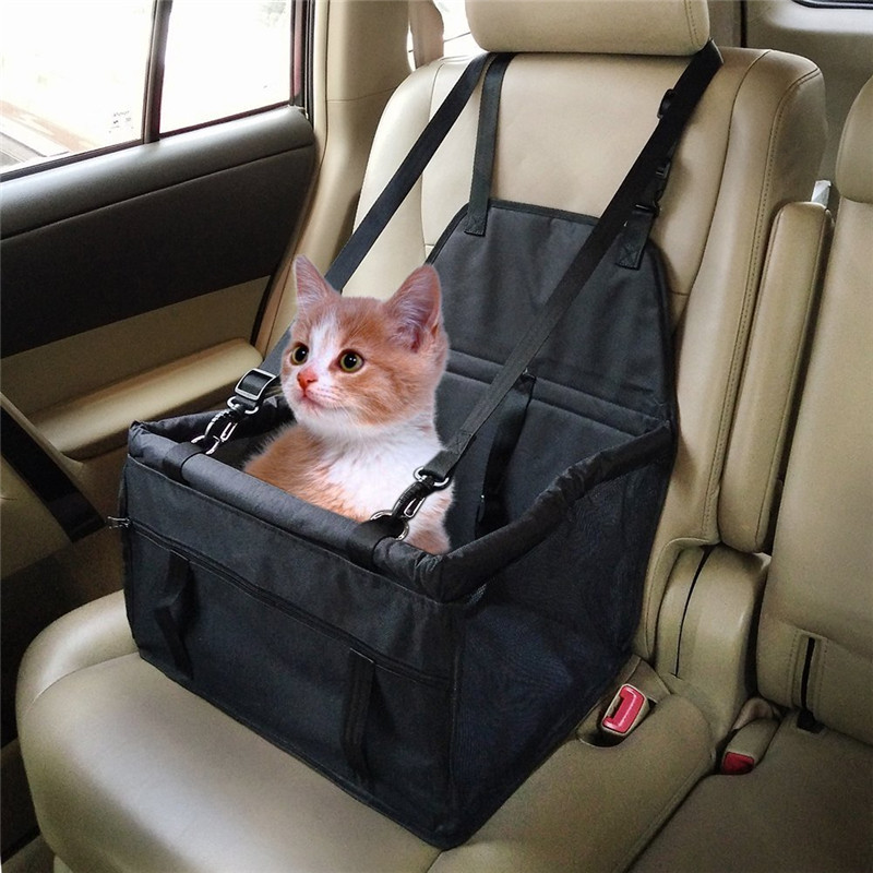 Fdit Dog Cat Pet Puppy Safety Car Seat Cover Booster Travel Bag Mat