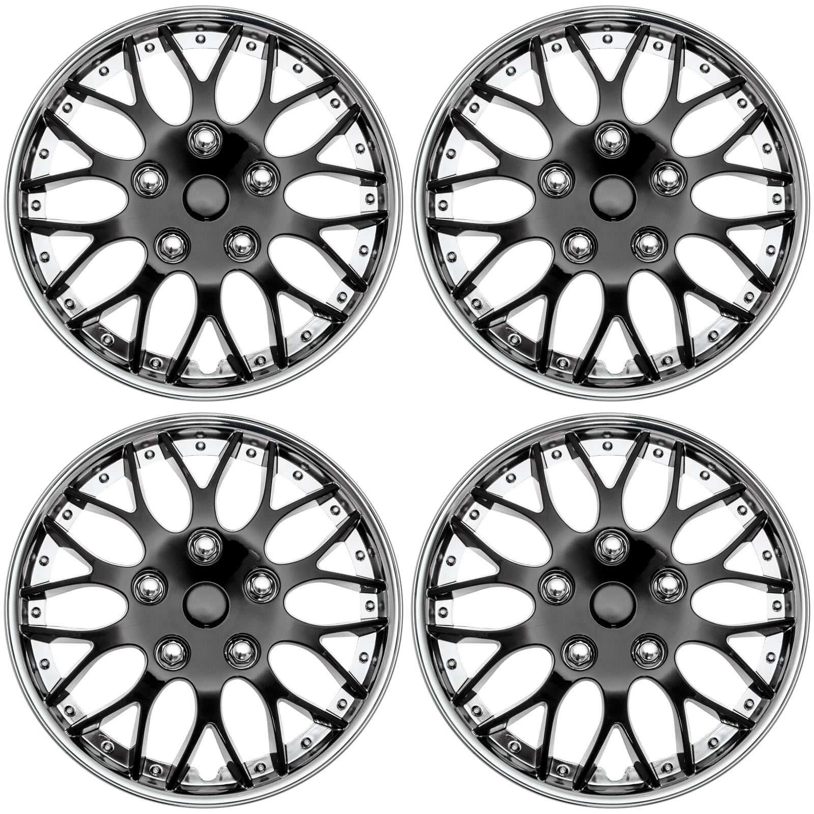 silver all tubes and tire accessories walmart Audi S5 cover trend set of 4 aftermarket 15 shiny black w