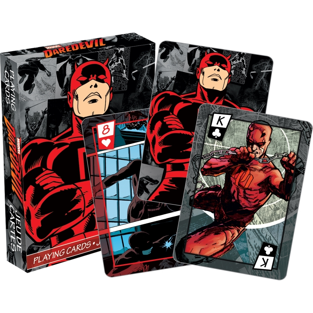 Daredevil Playing Cards,  Sci-Fi TV by NMR Calendars