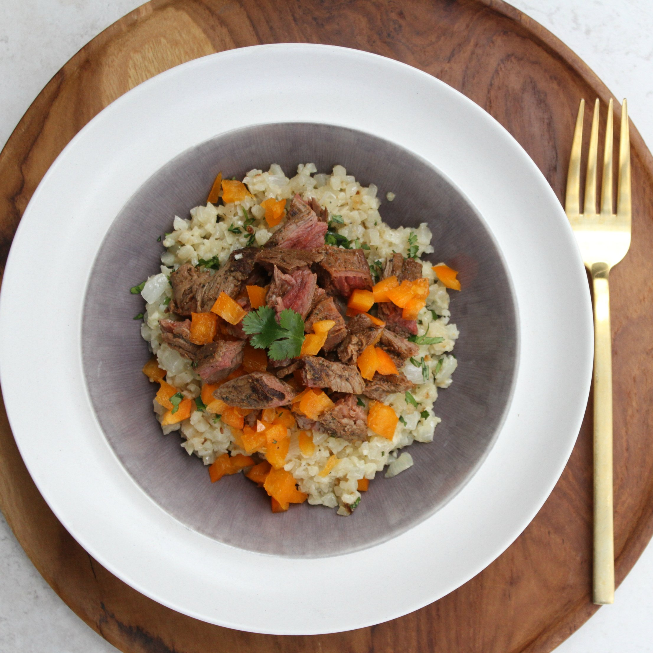 Pete's Paleo Meals, 3 Servings, Cauliflower Rice Dinners