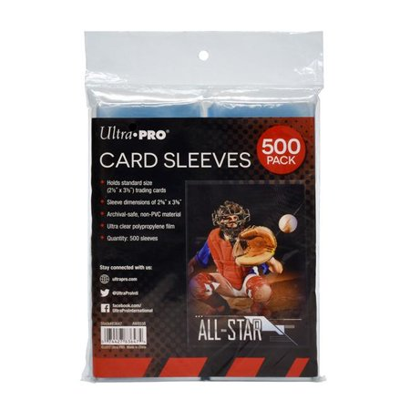 Caseys 7442783647 Ultra Pro Card Sleeves - Pack of
