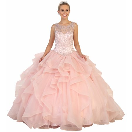 QUINCEANERA BALL DESIGNER GOWN