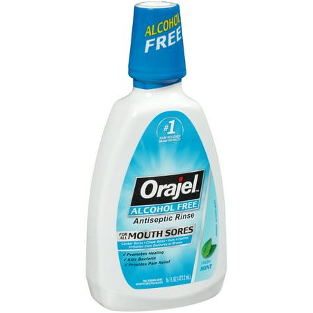 Upc 310310000035 Orajel Alcohol Free Antiseptic Mouth