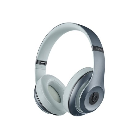 ae1d03c130f Beats By Dre Studio 2.0 Wired Over-Ear Headphones - Metallic Sky (MHC32AM/A)  - Walmart.com