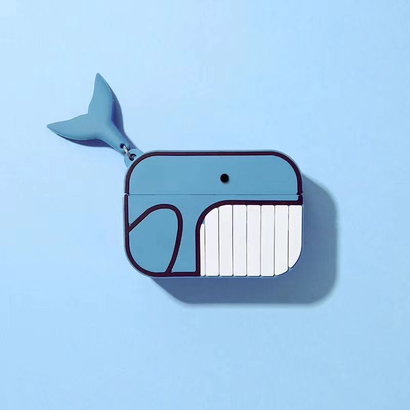 Newest 2020 Skin For Apple Airpods Pro Case Cute Cartoon Fish