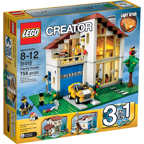 LEGO Creator Family House Play Set