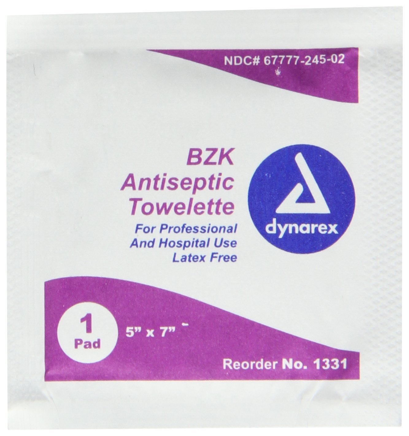 Pac-Kit by 12-180 BZK First Aid Antiseptic Towelette (Box of 50), BZK First aid antiseptic towelette By First Aid Only