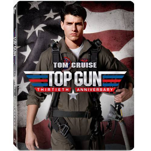 Top Gun 30th Anniversary (Steelbook Casing) (Blu-ray) (With INSTAWATCH)