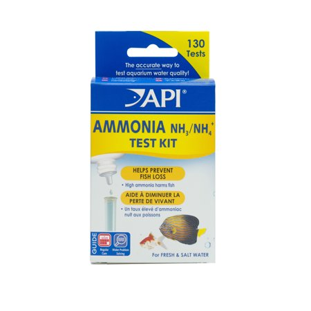 API Ammonia Test Kit, Freshwater And Saltwater Aquarium Water Test Kit, 1-Count