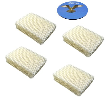 HQRP 4-pack Humidifier Wick Filter for ProCare PCCM-832N Cool Mist Humidifier, AC813 PCWF813 PCWF813-24 Replacement + HQRP