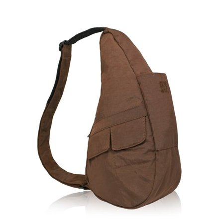 Extra Small Nylon Healthy Back Bag - Brown Extra Small Nylon Healthy Back Bag