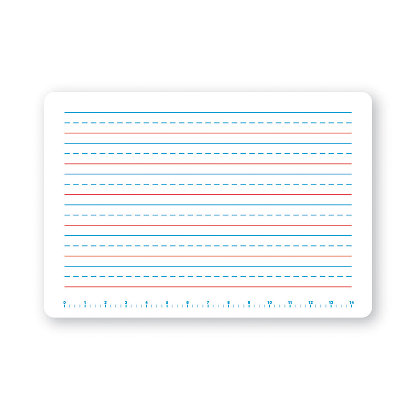 SINGLE PRIMARY HANDWRITING DRY ERASE BOARD