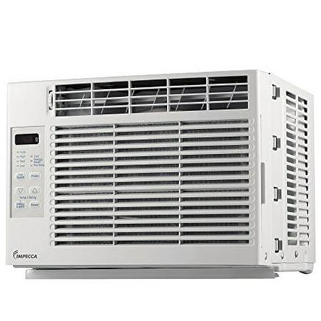 Impecca 5 200 btu electronic mini window air conditioner for 12 wide window air conditioner
