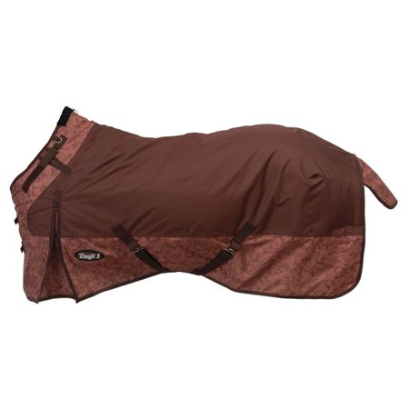 Tough 1 1200D Waterproof Poly Snuggit Turnout Blanket in Tooled Leathe