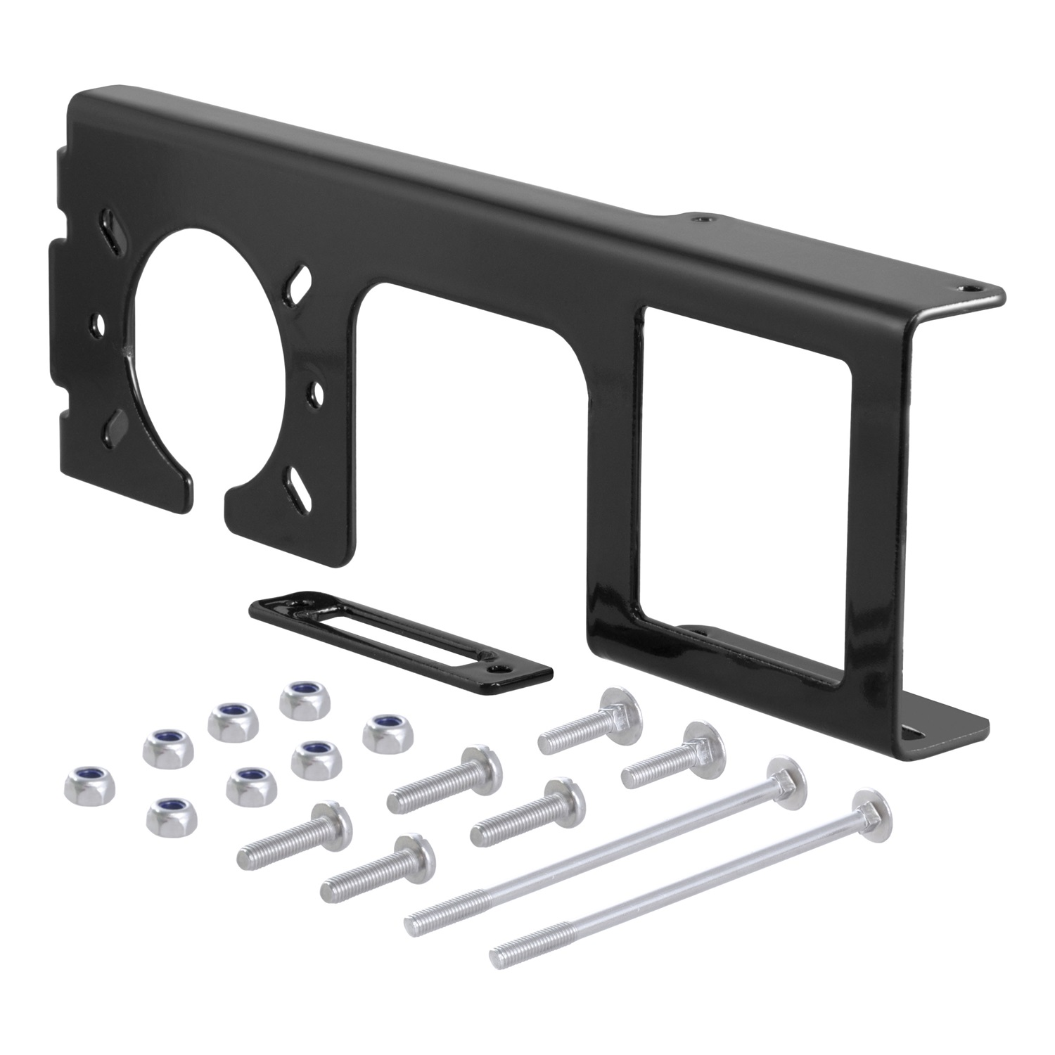 "Curt Manufacturing Cur58000 4Wayor5Way And 6-Way or 7-Way Easy Mount Combo Bracket for 2"" Receiver Hitch"