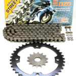 CZ DZO O-Ring Chain & Sprocket 15/40 104L 2009 2010 2011 2012 2013 Yamaha YFZ450