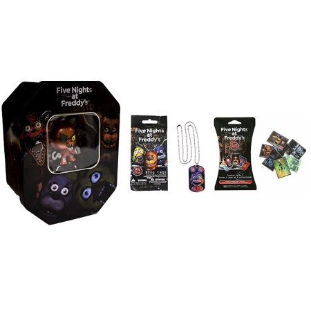 Five Nights At Freddys Exclusive  Foxy  Holiday Collectors Tin Set