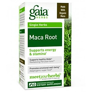 Gaia Herbs, Maca Root, 60 Veggie Caps (Pack of 1)