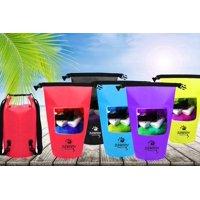 Zunammy 10 LT Waterproof Dry Bag with Transparent Window
