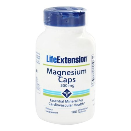 Life Extension - Magnesium Caps 500 mg. - 100 Vegetarian
