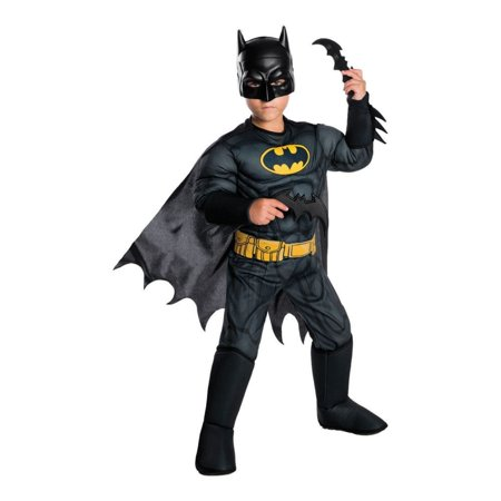 CHILD DELUXE MUSCLE CHEST BATMAN COSTUME](Batman Suit For Kids)