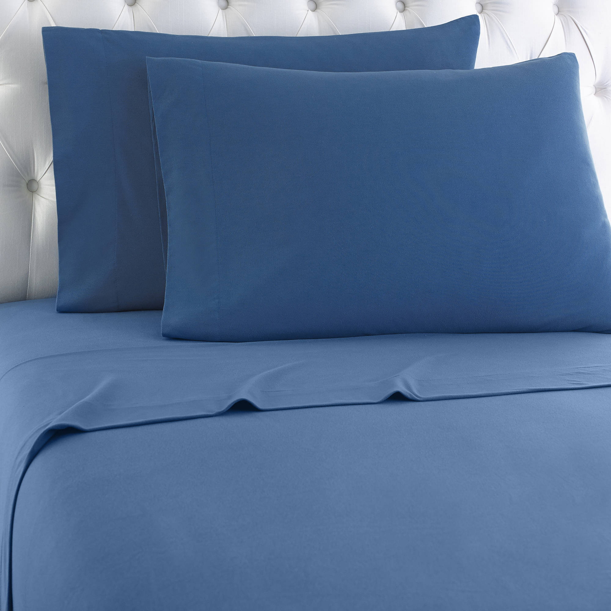 Micro Flannel® Printed Color Sheet Set, Twin, Snowflake