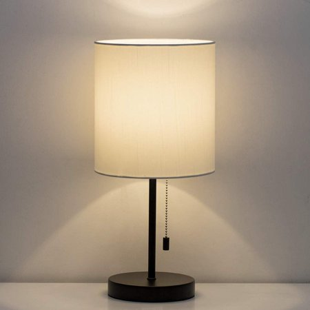 Haitral Black Modern Desk Lamp Set Of 2 Reading Lamp For