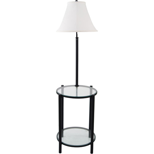 Awesome Glass End Table With Lamp