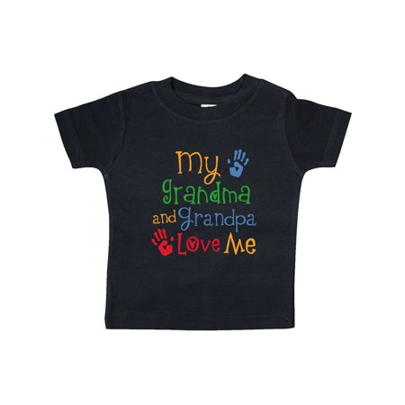My Grandma and Grandpa Love Me Baby T-Shirt (Love Me Not Clothing)